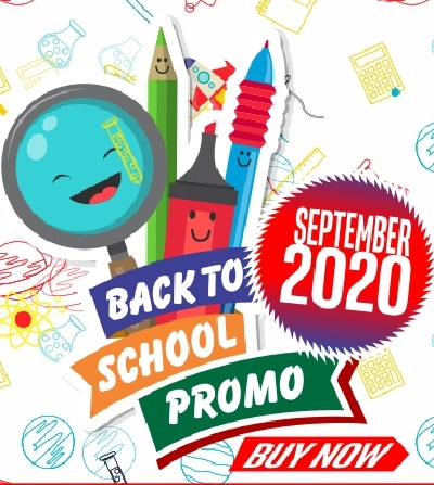 Click To View BACK TO SCHOOL - Sign Up to Our Newsletter Now